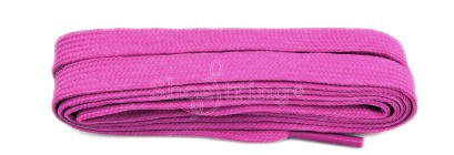 Fuchsia Pink Flat 9mm Laces