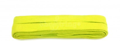 Flo Yellow Flat 9mm Laces