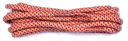 Red-white Mosaic Cord Laces