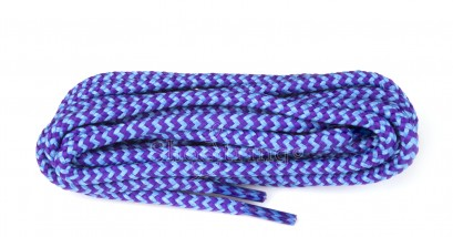 Hiking 140cm Aqua/purple Dog-tooth Laces