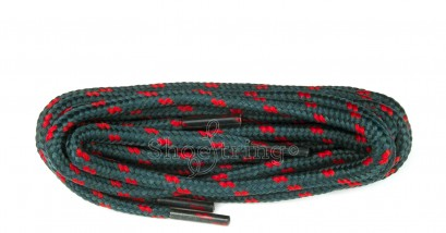 Hiking 150cm Green/red Wide-fleck Laces