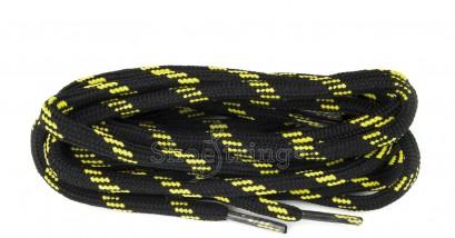Black/yellow Zest Laces 90cm