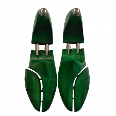 Shoe String Deluxe Green Beechwood Shoe Trees Select Size