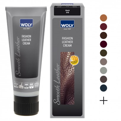 Woly Waterproof Leather Cream 75ml Select Colour