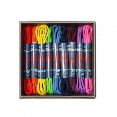 Shoe String Wax 2mm 75cm Shoe Laces Boxed 9 Pairs
