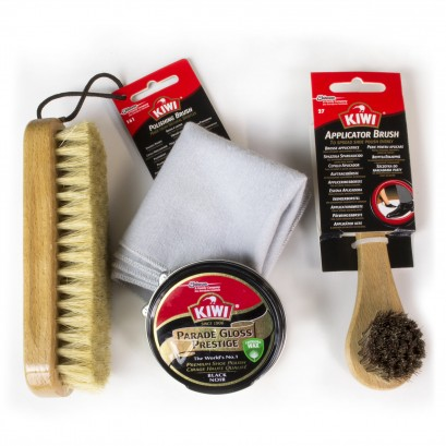 Kiwi-shoe Care Military Kit Black/neutral