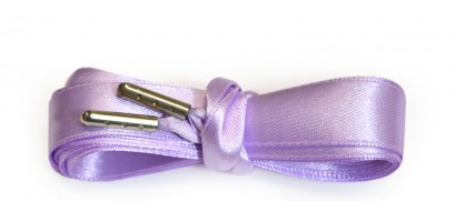 Lilac Ribbon Laces Metal Aglet