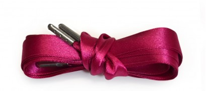 Hot Pink Pink Ribbon Laces Metal Aglet